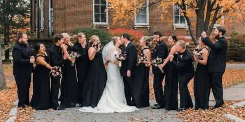 A Norman's bride and her wedding party.